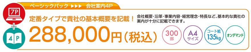 プロファイルパック|ベーシックパック|28万8千円