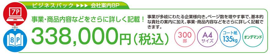 プロファイルパック|ビジネスパック|33万8千円